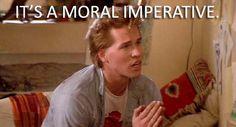 "Real Genius, one of my favorite movies. In the immortal words of Socrates, ""I drank what? Genius Movie, Real Genius, Geek Movies, Funny Movies, Tv Show Quotes, Film Quotes, Genius Hour, Val Kilmer, Light Film"