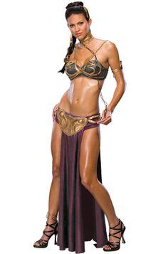 Star Wars Slave Princess Leia Adult Costume for Halloween #starwars #halloween #costumes