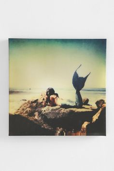 Mermaid Wall Art #urbanoutfitters I want my small space to be AWESOME. I entered the #UrbanOutfitters Pin A Room, Win A Room Sweepstakes! #smallspace
