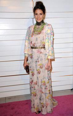 Margherita Missoni Print Dress - Margherita Missoni wore a floor-length print dress for the Rodeo Drive Walk of Style Award.