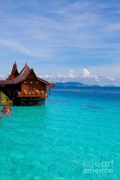 ✯ Water Village On Mabul Island - Borneo, Malaysia