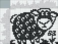 Kuvahaun tulos haulle японские кроссворды Crochet Sheep, Crochet Animals, Knit Crochet, Knitting Charts, Knitting Patterns, Beading Patterns, Crochet Diagram, Filet Crochet, Tapestry Crochet