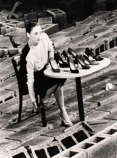 Pina Bausch R&S- why couldnt the shoes be cups, for A's character, and her Coffee cup characterisations.