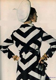 Couture Allure Vintage Fashion: Donald Brooks Coat, 1967