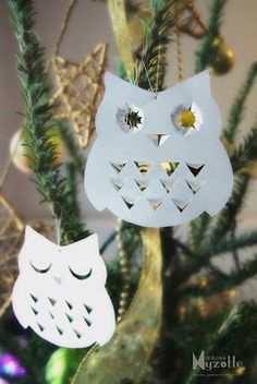 owl - christmas tree