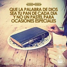 Amen! Es mi diario pan tu palabra viva hablada a mi!