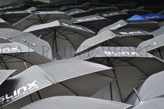 Umbrellas as corporate giveaways this summer season. Your clients will thank you for it. #calprintworks #customizedumbrellas #summer