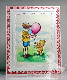 For Jeanne's Hope You Can Cling To challenge, I needed to use this sweet Classic Pooh stamp - it's watercolored using Inktense blocks and pencils.  Are you playing along with us? If not, you're missing out on the chance to [url=http://www.splitcoaststampers.com/forums/hope-you-can-cling-challenge-forum-f299/welcome-hope-you-can-cling-2014-a-t591865.html][color=deepskyblue]lift the spirits of women battling breast cancer at MD Anderson[/color][/url], and also on  ...