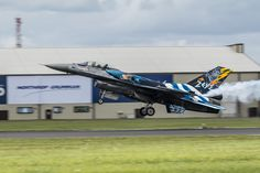 Hellenic Air Force F-16 Demo Team 'Zeus' RIAT 2016