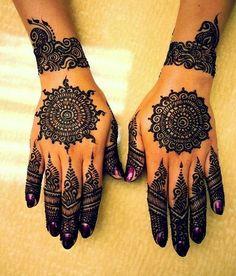 Latest Indian 2016 Bridal Mehndi Designs
