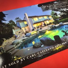 Just sold postcards. The best way to remain top of mind! #orangecountyrealestate #ocrealestate #realestate #realestatemarketing #realestatephotograIphy #justlisted #justsold #realestateagent #realtor #homeforsale #openhousesigns #realtorlife #makeyourmark