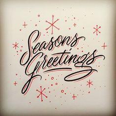 Seasons Greetings by Matthew Tapia. Vintage Christmas Images, Retro Christmas, Christmas Art, Christmas Greetings, Christmas Graphics, Christmas Ideas, Christmas Inspiration, Christmas Projects, Christmas Stuff