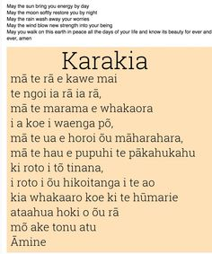 Karakia Maori Songs, Maori Tribe, Maori Art, Prayers For Healing, Learning Spaces, Early Childhood Education, Teaching Resources, Wise Words, Language