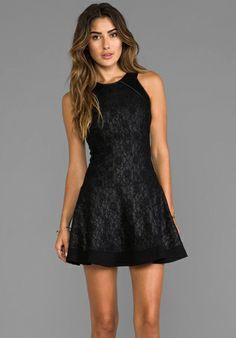 HEARTLOOM Courtney Dress in Gunmetal - Dresses