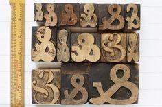 Wood Type ~ thecollectingbug.com