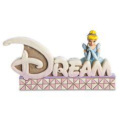 ''Dream'' Cinderella Figurine by Jim Shore | Figurines & Keepsakes | Disney Store