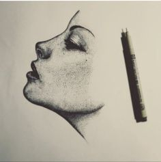 adoreessence: dropacidnotfuckingbombs: x this is some nice stippling. adoreessence: dropacidnotfuckingbombs: x this is some nice stippling. Art Sketches, Art Drawings, Pencil Drawings, Drawing Designs, Dotted Drawings, Pen Art, Drawing Techniques, Love Art, Art Inspo