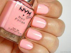 NYX Girls, Naked Pink, 3 coats