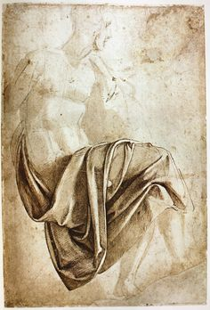 The Classical Pulse: Michelangelo: Drapery Studies