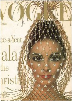 US Vogue. Wilhelmina Cooper. December, 1965. Irving Penn.