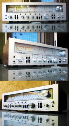 """Vintage stereo equipment with timeless style. """"Big Laffer"""" Lafeyette LR-9090"""
