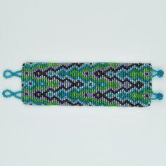Hand Beaded Cuff Bracelet