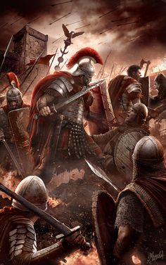 For the glory of Rome by DusanMarkovic.deviantart.com on @DeviantArt