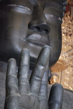 Giant Buddha - Todai-ji, Nara, Japan