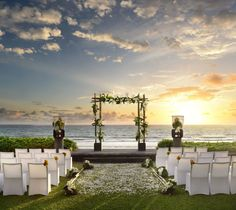 Outdoor Bali wedding | Project by W Retreat
