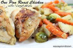 One-Pan 40-Min Whole Chicken with Vegetables, Courtesy of America's Test Kitchen