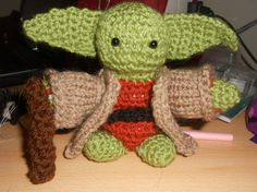 Star Wars Yoda- Crochet Soft Toy