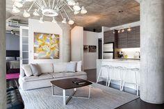 La cocina abierta y el sala conforman un solo espacio luminoso.   Galería de fotos 2 de 9   AD MX
