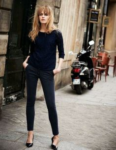 French Style | via Elements of Style ... YES. this outfit. right here. uniform.