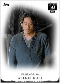 Topps-The-Walking-Dead-Saison 7-In-Memoriam-Glenn-Rhee