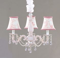 shabby chic lighs | Lite 4 U; Shabby Chic style Mini chandeliers & Lighting