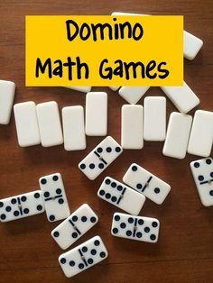 Fun Games 4 Learning: Domino Math Games. This could work with addition too.