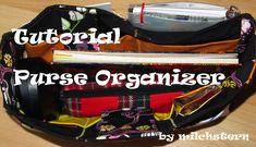Purse Organizer – Tutorial – Made by milchstern Purse Organizer Tutorial, Diy Bag Organiser, Purse Organization, Diy Bag Organizer Insert, Purse Tutorial, Cheap Purses, Cute Purses, Handbags On Sale, Purses And Handbags