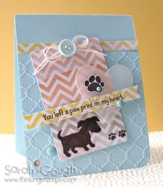 THinkING STAMPS: Paper Smooches Special Blog Hop - Woof Woof!
