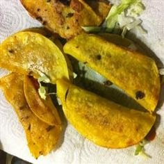 copycat Jack in the Box tacos Yeah I know they are really bad for you but every so often they are so yum and our JITB closed