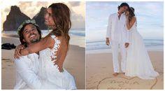 Retrô - Casamento de famosos 2011. Thaila Ayala e Paulo Vilhena