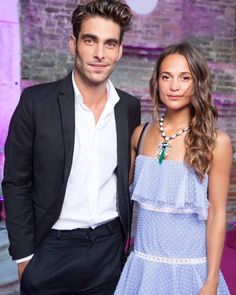 alicia vikander and jon kortajarena