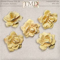 Flower Frenzy Vol 28::03/12 - Wonderful Wednesday::Memory Scraps {CU}