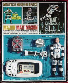 Wildtoy's Major Matt Mason Mattel Playsets Page Vintage Toys 1960s, 1960s Toys, Retro Toys, 1970s, Avengers 2012, Gi Joe, Childhood Toys, Childhood Memories, X Men