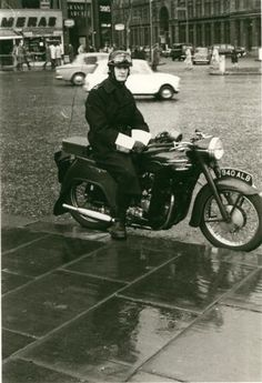 Police Constable Kenneth Earl (Traffic Division) Metropolitan Police, London