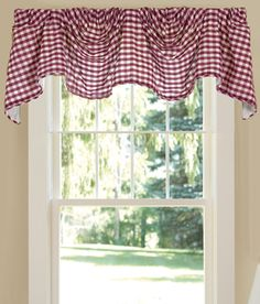 Soft English Floral Lined Scalloped Valance Country Curtains ...