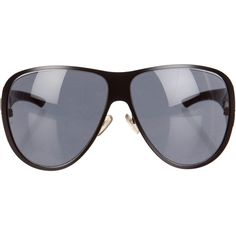 Pre-owned Christian Dior Sunglasses ($75) ❤ liked on Polyvore featuring accessories, eyewear, sunglasses, black, christian dior, christian dior glasses, christian dior sunglasses, logo sunglasses and christian dior eyewear