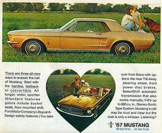 1967 Ford Mustang Coupe and Convertible