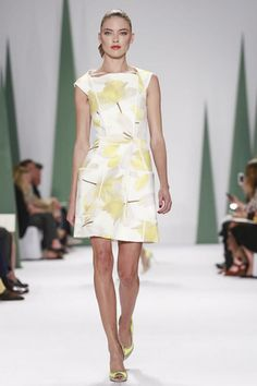 Carolina Herrera Ready To Wear Spring Summer 2015 #ss15