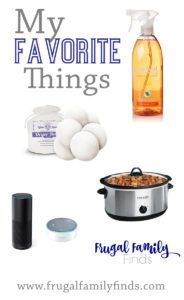 Our favorite time and money saving products for January. | www.frugalfamilyfinds.com