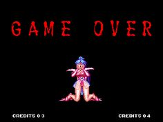 Voltage Fighter Gowcaizer Neo Geo Game over